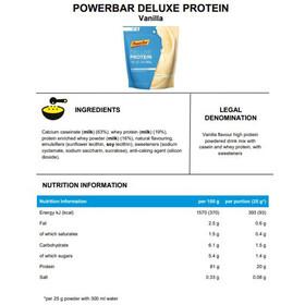 PowerBar Deluxe Proteinpulver 500g, Vanilla